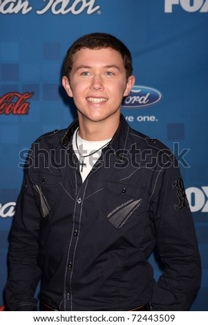 LOS ANGELES -  MARCH 3: Scotty McCreery arrives at the American Idol Season 10 FInalists Party at The Grove on March 3, 2011 in Los Angeles, CA