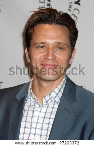"LOS ANGELES - MARCH 9:  Seamus Dever arrives at the ""Castle"" Event at PaleyFest 2012 at the Saban Theater on March 9, 2012 in Los Angeles, CA"