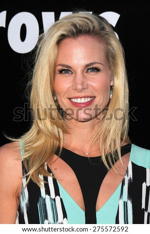 "LOS ANGELES - MAY 3:  Brooke Burns at the ""Where Hope Grows"" Los Angeles Premiere at the ArcLight Hollywood Theaters on May 3, 2015 in Los Angeles, CA - stock photo"