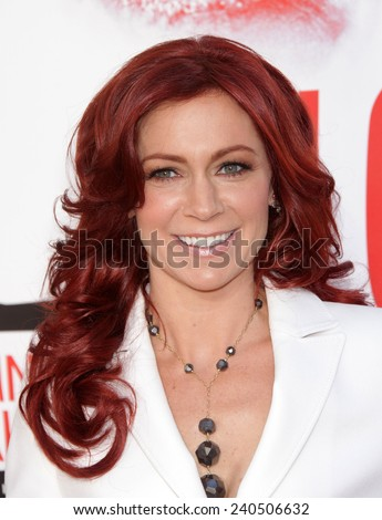 """LOS ANGELES - MAY 30:  CARRIE PRESTON arrives to """"True Blood"""" Season 5 Premiere  on May 30, 2012 in Hollywood, CA                 - stock photo"""