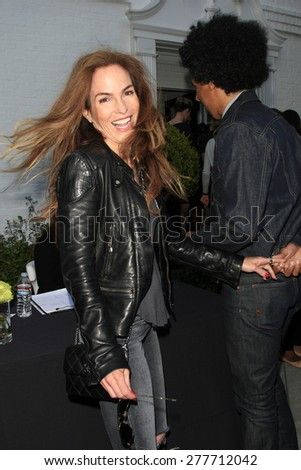 LOS ANGELES - MAY 12:  Gigi Levangie, Chris Elise at the Children's Justice Campaign Event at the Private Residence on May 12, 2015 in Beverly Hills, CA - stock photo