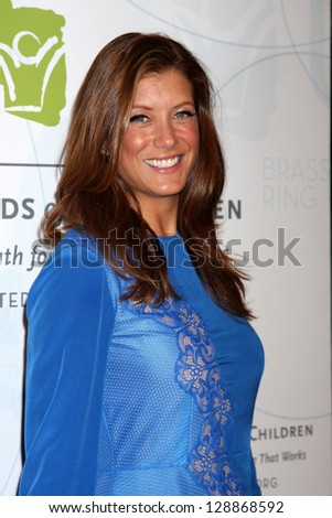 LOS ANGELES - MAY 21:  Kate Walsh arrives at the 2012 United Friends of the Children Gala  at Beverly Hilton Hotel on May 21, 2012 in Beverly Hills, CA - stock photo