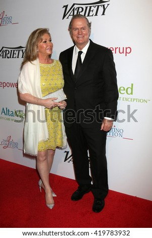 LOS ANGELES - MAY 12:  Kathy Hilton, Rick Hilton at the Power Up Gala at the Beverly Wilshire Hotel on May 12, 2016 in Beverly Hills, CA - stock photo