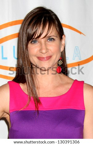 LOS ANGELES - MAY 24:  Kellie Martin arrives at the 12th Annual Lupus LA Orange Ball at Beverly Wilshire Hotel on May 24, 2012 in Beverly Hills, CA - stock photo