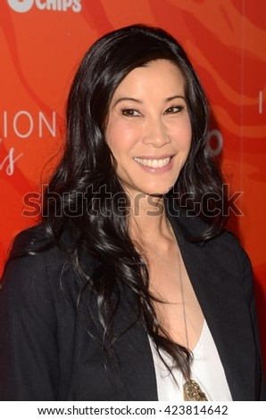 LOS ANGELES - MAY 20:  Lisa Ling at the Step Up Inspiration Awards at Beverly Hilton Hotel on May 20, 2016 in Beverly Hills, CA - stock photo