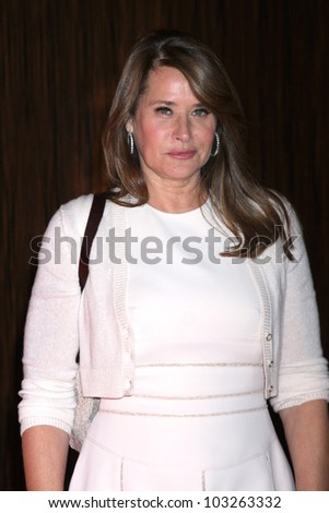 LOS ANGELES - MAY 22:  Lorraine Bracco arrives at the 37th Annual Gracie Awards Gala at Beverly Hilton Hotel on May 22, 2012 in Beverly Hllls, CA