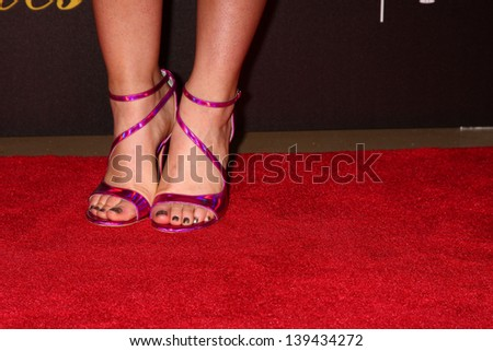 LOS ANGELES - MAY 21:  Lucy Hale arrives at the 38th Annual Gracie Awards Gala at the Beverly Hilton Hotel on May 21, 2013 in Beverly Hills, CA - stock photo