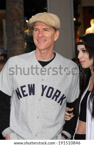 "LOS ANGELES - MAY 6:  Matthew Modine at the ""Million Dollar Arm"" Premiere at El Capitan Theater on May 6, 2014 in Los Angeles, CA - stock photo"