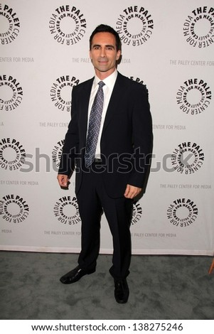 "LOS ANGELES - MAY 10:  Nestor Carbonell arrives at the ""Bates Motel"" Reimagining A Cinema Icon Event at the Paley Center For Media on May 10, 2013 in Beverly Hills, CA"
