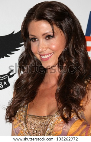 LOS ANGELES - MAY 18:  Shannon Elizabeth arrives at the 19th Annual Race to Erase MS gala at Century Plaza Hotel on May 18, 2012 in Century City, CA