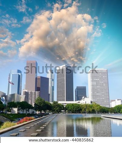 bangkok thailand may 12 lake benchakitti stock photo 422234752