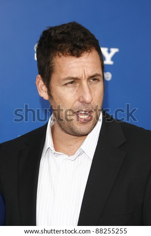 LOS ANGELES - NOV 6: Adam Sandler at the 'Jack And Jill' World  Premiere at Regency Village Theater on November 6, 2011 in Los Angeles, CA - stock photo