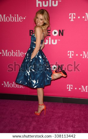 LOS ANGELES - NOV 10:  Bar Paly at the T-Mobile Un-carrier X Launch Celebration at the Shrine Auditorium on November 10, 2015 in Los Angeles, CA - stock photo