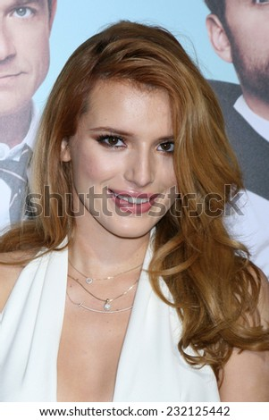 "LOS ANGELES - NOV 20:  Bella Thorne at the ""Horrible Bosses 2"" Premiere at the TCL Chinese Theater on November 20, 2014 in Los Angeles, CA - stock photo"