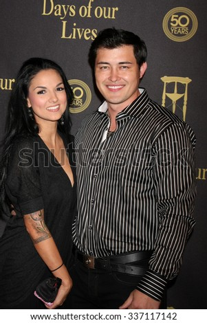 LOS ANGELES - NOV 7:  Christopher Sean at the Days of Our Lives 50th Anniversary Party at the Hollywood Palladium on November 7, 2015 in Los Angeles, CA - stock photo