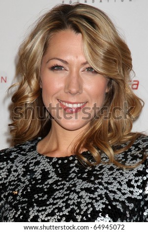 LOS ANGELES - NOV 11:  Colbie Caillet arrives at the Rock the Kabash Gala 2010 at Dorothy Chandler Pavilion  on November 11, 2010 in Los Angeles, CA - stock photo
