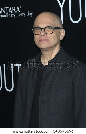 """LOS ANGELES - NOV 17:  David Lang at the """"Youth"""" LA Premiere at the Directors Guild of America on November 17, 2015 in Los Angeles, CA - stock photo"""