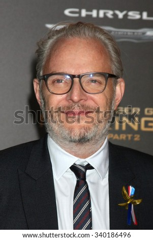 """LOS ANGELES - NOV 16:  Francis Lawrence at the """"The Hunger Games -Mockingjay Part 2"""" LA Premiere at the Microsoft Theater on November 16, 2015 in Los Angeles, CA - stock photo"""