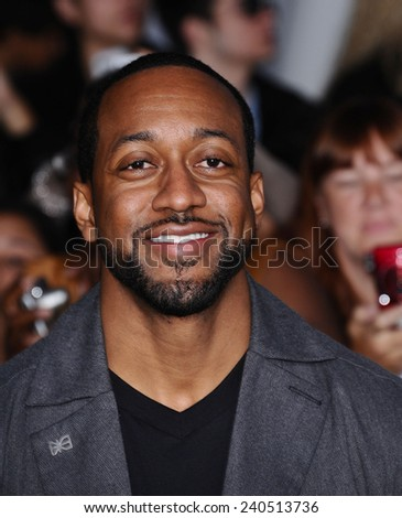 "LOS ANGELES - NOV 11:  Jaleel White arrives to the ""The Twilight Saga: Breaking Dawn-Part 2"" World Premiere  on November 11, 2012 in Los Angeles, CA                 - stock photo"