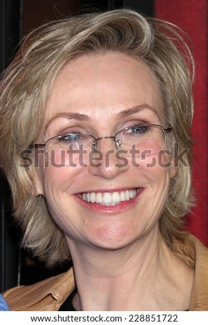 "LOS ANGELES - NOV 5:  Jane Lynch at the ""The Comeback"" - Season Premiere at the El Capitan Theater on November 5, 2014 in Los Angeles, CA"