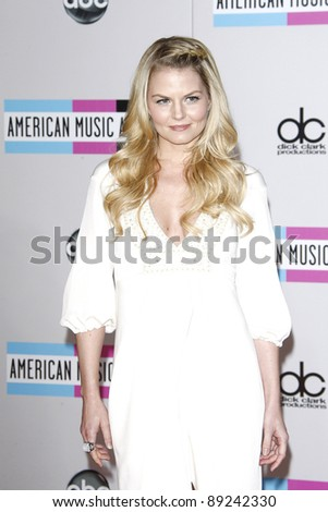 LOS ANGELES - NOV 20: Jennifer Morrison at the 2011 American Music Awards held at Nokia Theatre L.A. Live on November 20, 2011 in Los Angeles, California