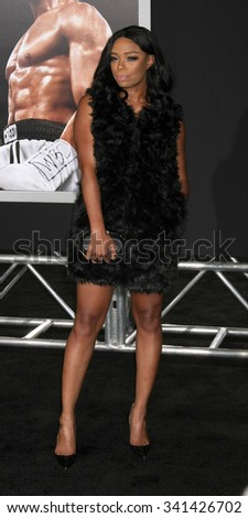 "LOS ANGELES - NOV 19:  Jill Marie Jones at the ""Creed"" Los Angeles Premiere at the Village Theater on November 19, 2015 in Westwood, CA"