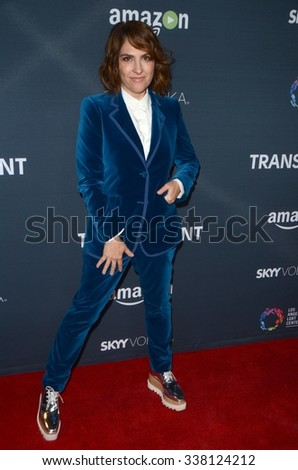 """LOS ANGELES - NOV 9:  Jill Soloway at the """"Transparent"""" Season Two Red Carpet Premiere at the Pacific Design Center on November 9, 2015 in West Hollywood, CA - stock photo"""