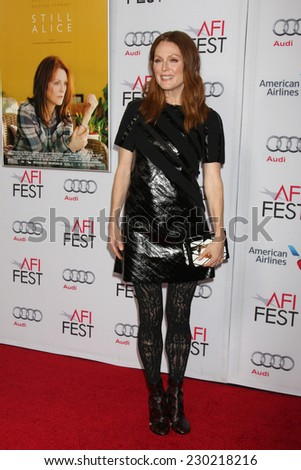 "LOS ANGELES - NOV 12:  Julianne Moore at the ""Still Alice"" Special Screening at AFI Film Festival at the Dolby Theater on November 12, 2014 in Los Angeles, CA"