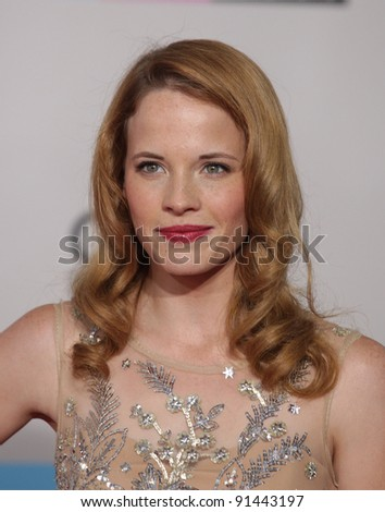 LOS ANGELES - NOV 20:  Katie LeClerc arrives to the American Music Awards 2011  on November 20, 2011 in Los Angeles, CA
