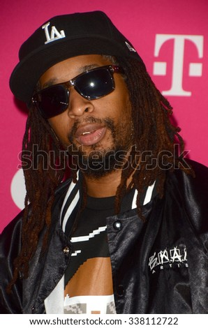 LOS ANGELES - NOV 10:  Lil Jon at the T-Mobile Un-carrier X Launch Celebration at the Shrine Auditorium on November 10, 2015 in Los Angeles, CA - stock photo