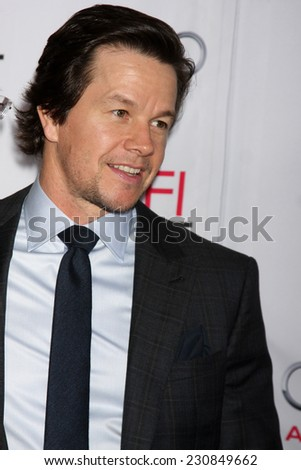"LOS ANGELES - NOV 10:  Mark Wahlberg at the ""Gambler"" Screening at AFI Film Festival at the Dolby Theater on November 10, 2014 in Los Angeles, CA"