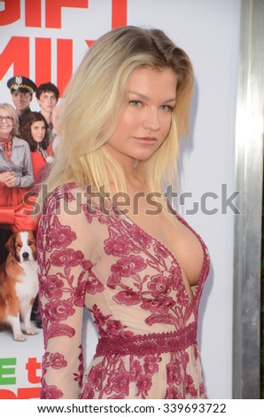 "LOS ANGELES - NOV 12:  Meredith Hennessy at the ""Love the Coopers"" Los Angeles Premiere at the The Grove on November 12, 2015 in Los Angeles, CA - stock photo"