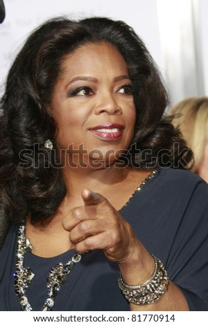 LOS ANGELES - NOV 1: Oprah Winfrey at the screening of 'Precious: Based On The Novel 'PUSH' By Sapphire' during AFI FEST 2009 in Los Angeles, California on November 1, 2009