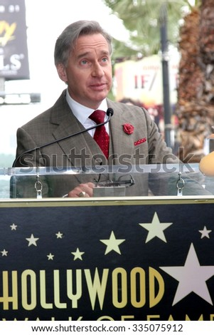 LOS ANGELES - NOV 2:  Paul Feig at the Snoopy Hollywood Walk of Fame Ceremony at the Hollywood Walk of Fame on November 2, 2015 in Los Angeles, CA - stock photo