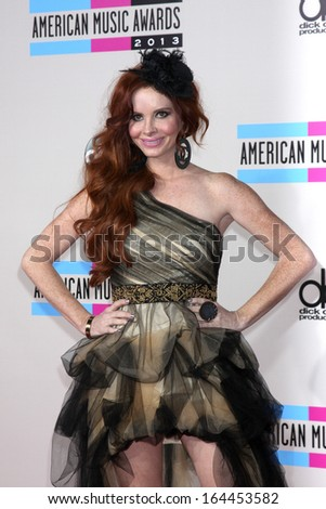 LOS ANGELES - NOV 24:  Phoebe Price at the 2013 American Music Awards Arrivals at Nokia Theater on November 24, 2013 in Los Angeles, CA