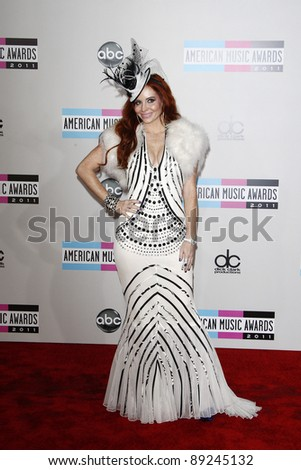 LOS ANGELES - NOV 20: Phoebe Price at the 2011 American Music Awards held at Nokia Theatre L.A. Live on November 20, 2011 in Los Angeles, California