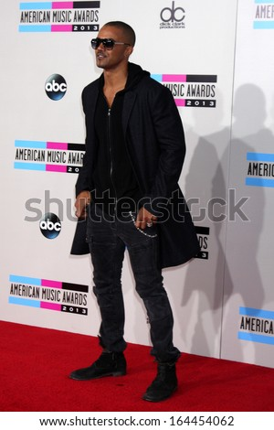 LOS ANGELES - NOV 24:  Shemar Moore at the 2013 American Music Awards Arrivals at Nokia Theater on November 24, 2013 in Los Angeles, CA