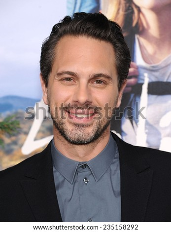 "LOS ANGELES - NOV 19:  Thomas Sadoski arrives to the ""Wild"" Los Angeles Premiere on November 19, 2014 in Beverly Hills, CA"