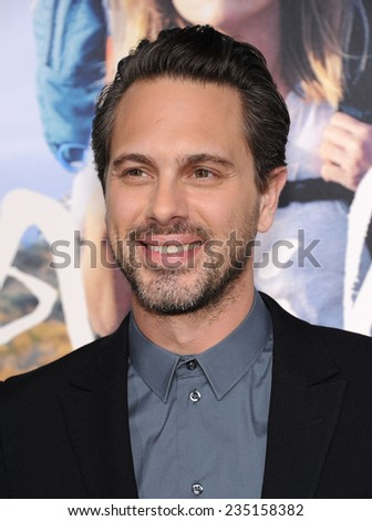 """LOS ANGELES - NOV 19:  Thomas Sadoski arrives to the """"Wild"""" Los Angeles Premiere on November 19, 2014 in Beverly Hills, CA                 - stock photo"""