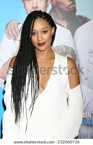 "LOS ANGELES - NOV 20:  Tia Mowry-Hardrict at the ""Horrible Bosses 2"" Premiere at the TCL Chinese Theater on November 20, 2014 in Los Angeles, CA"