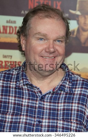 """LOS ANGELES - NOV 30:  Tim Herlihy at the """"The Ridiculous 6"""" Premeire Screening at the AMC Theaters at CityWalk on November 30, 2015in Los Angeles, CA - stock photo"""