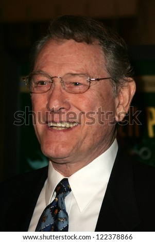 "LOS ANGELES - NOVEMBER 8: Earl Holliman at the 50th Anniversary Gala Screening of ""Forbidden Planet"" at Egyptian Theatre on November 8, 2006 in Hollywood, CA."