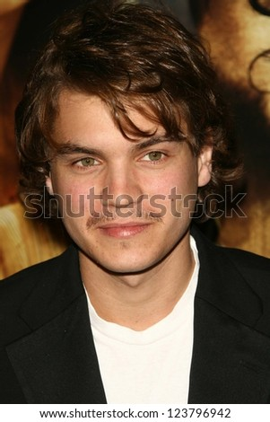 "LOS ANGELES - NOVEMBER 28: Emile Hirsch at the premiere of ""The Nativity Story"" at Academy of Motion Picture Arts & Sciences on November 28, 2006 in Los Angeles, CA"