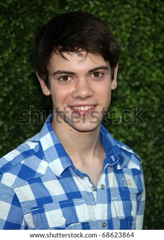 LOS ANGELES - OCT 11:  Alexander Gould arrives to the Summer Press Tour 2010-CBS CW Showtime on October 11, 2010 in Beverly Hills, CA - stock photo