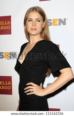 LOS ANGELES - OCT 5:  Amy Adams arrives at the 8th Annual GLSEN Respect Awards at Beverly Hills Hotel on October 5, 2012 in Beverly Hills, CA
