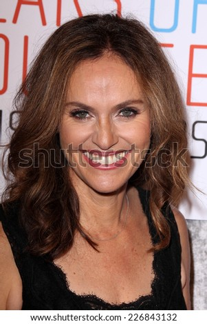 LOS ANGELES - OCT 28:  Amy Brenneman at the 25th Courage In Journalism Awards at the Beverly Hilton Hotel on October 28, 2014 in Beverly Hills, CA - stock photo