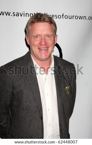 "LOS ANGELES - OCT 5:  Anthony Michael Hall arrives at ""1 Voice"" Benefit for the Motion Picture Home at Renberg Theatre at The Village on October 5, 2010 in Los Angeles, CA"