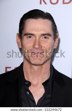 "LOS ANGELES - OCT 7:  Billy Crudup at the ""Rudderless"" Premiere at Vista Theater on October 7, 2014 in Los Angeles, CA - stock photo"