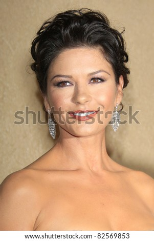 "LOS ANGELES - OCT 20: Catherine Zeta Jones at the third annual ""A Fine Romance""  at Sony Studios in Culver City, Los Angeles, California on October 20, 2007 - stock photo"