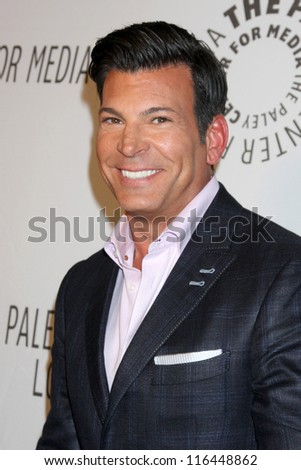 LOS ANGELES - OCT 22:  David Tutera arrives at  the Paley Center for Media Annual Los Angeles Benefit at The Lot on October 22, 2012 in Los Angeles, CA